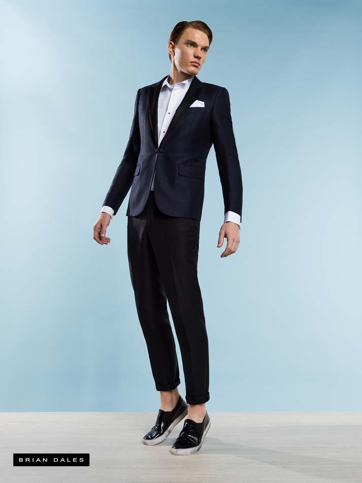 #BRIANDALES #MAN #COLLECTION #SS2016, slim fit single-breasted suit.