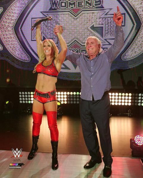Charlotte WWE Diva & Ric Flair Photo SQ084 (Select Size) - http://bestsellerlist.co.uk/charlotte-wwe-diva-ric-flair-photo-sq084-select-size/