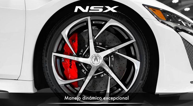 Aluminio, fibra de carbono, y acero de alta resistencia, se adaptan con una rigidez excepcional en el diseño de la estructura del vehículo, para que puedas saborear cada aspecto del manejo dinámico. #NSXenLeon #ADNAcura #InspiradoEnTi