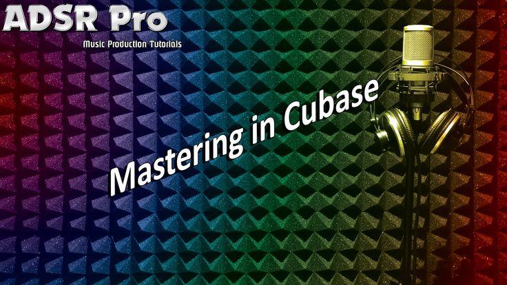 Mastering in Steinberg Cubase HD