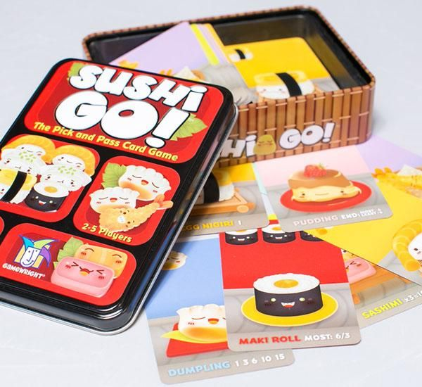Sushi Go! - https://destinationcute.com - Your #1 destination for everything Cute & Kawaii