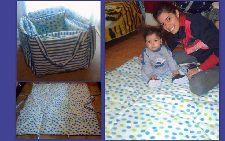 bolso,alfombra para jugar y guardar juguetes!
