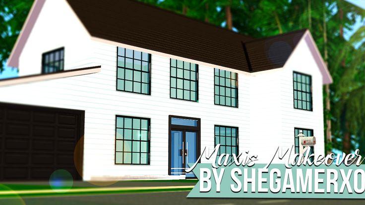 SheGamerxo | Sims 2 Maxis Makeover - Ranch Retreat - No CC...