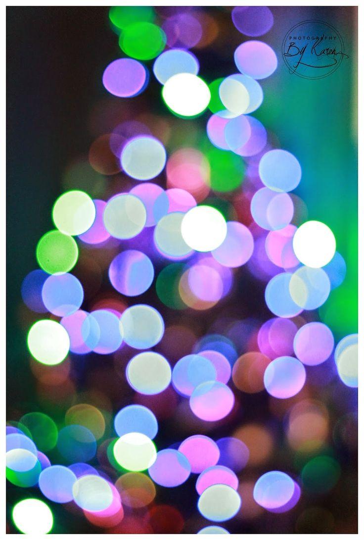 How to achieve beautiful christmas bokeh