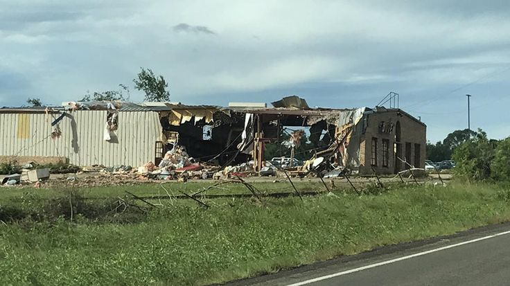 Tornadoes Leave Trail of Damage Across Three Counties | NBC 5 Dallas-Fort Worth. Tornado damage in Canton, Texas.