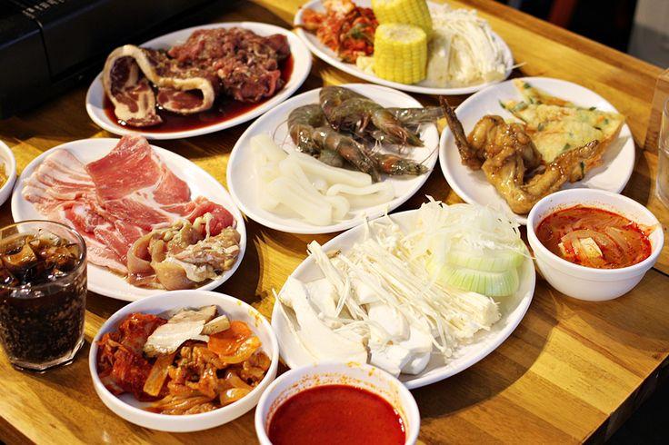 K Cook Korean BBQ buffet meat Ingredients