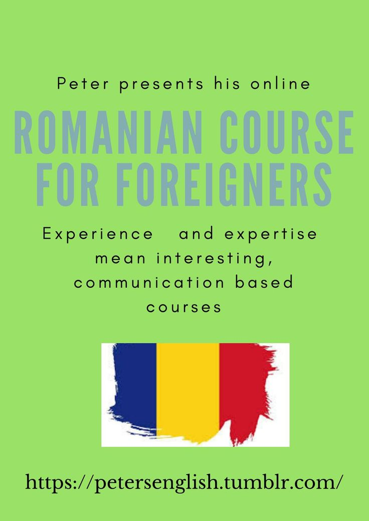 Romanian course for foreigners pdf