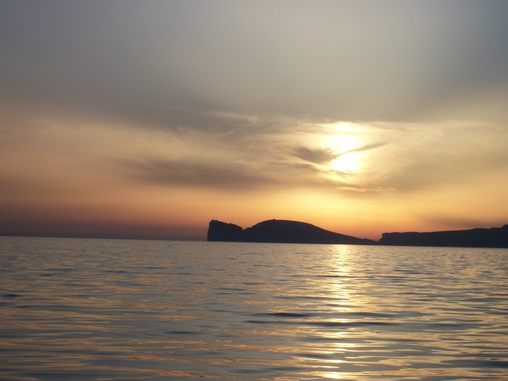 gret sunset in alghero after the rain  , capocaccia is beautifull. foto del b alghero republic . www.bbalghero.eu
