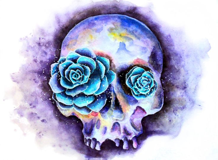 Skull by umantsiva.deviantart.com on @DeviantArt