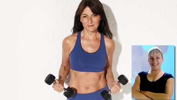 FitnFoodie.com - Workout - Davina McCall trainer Jackie Wren's shape-up quest, part 10