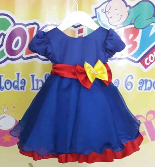Vestido Infantil Show da Luna                                                                                                                                                                                 Mais