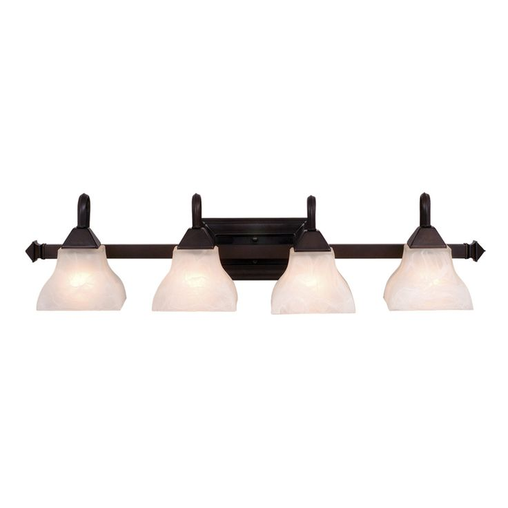 Shop cascadia lighting 4 light bathroom light at lowes canada find our selection of bathroom vanity lighting at the lowest price guaranteed with price