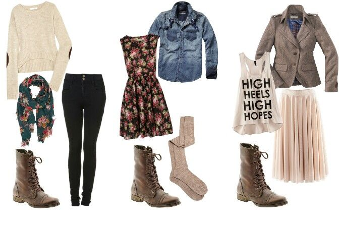 Outfits with combat boots