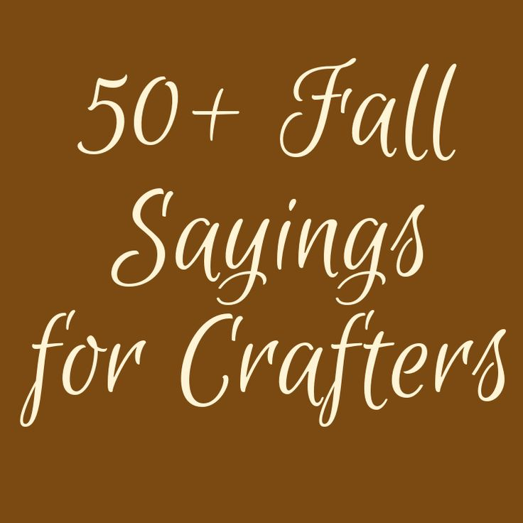 17 Best ideas about Fall Sayings on Pinterest  Fall decorations diy, Cricut ...
