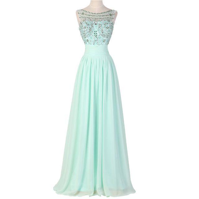 Sexy High Neck Cap Sleeve Beading Chiffon Evening dress Floor length Red  Carpet Gown Formal Prom · Hoch Niedrig Prom KleiderBallkleider ...