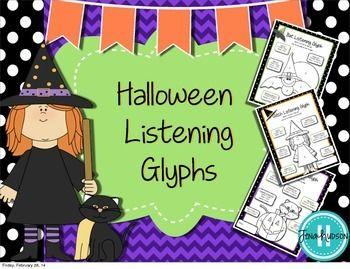 halloween listening glyphs - Halloween Glyphs