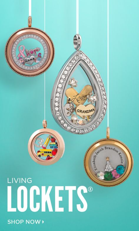 tell your story in a living locket by origami owl shop at