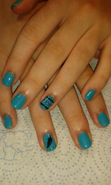 Turquois#black#LOVE the colour#
