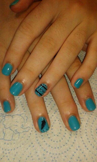 Turquois#black#LOVE the colour#