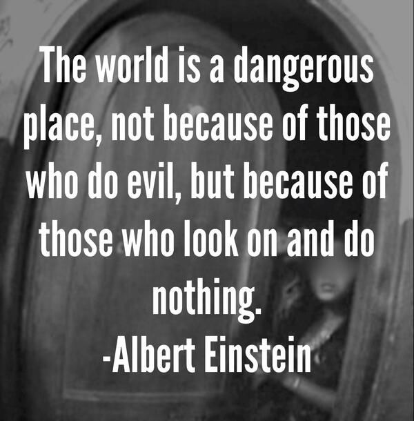 the world is a dangerous place albert einstein essay Once registered you can read a total of 3 articles each month, plus: sign up for  the editor's highlights receive world university rankings news.