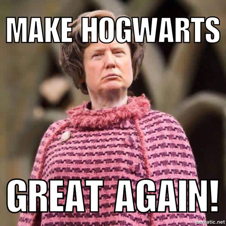 Trump and Umbridge...the similarities are startling...#trump #umbridge # loathsome #thathairtho