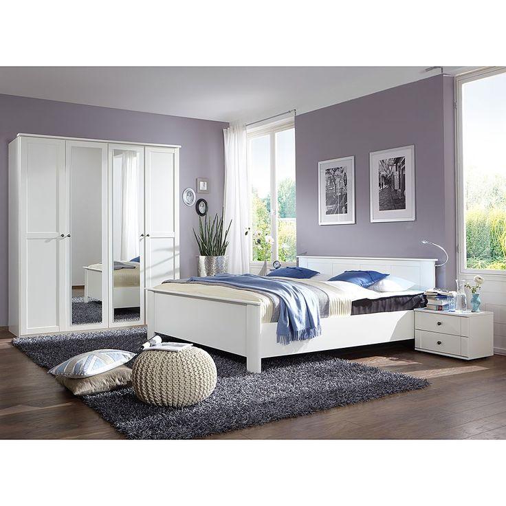 Schlafzimmerset Lundu – Klein Alpinweiß, Wimex Jetzt bestellen unter: moebel.la…