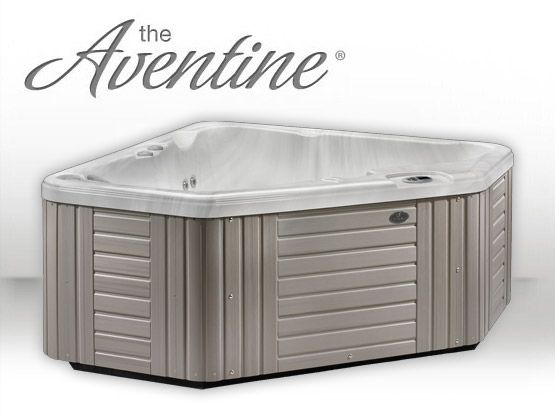 Aventine hot tub model portable 2 person spas features for Small hot tubs for small spaces