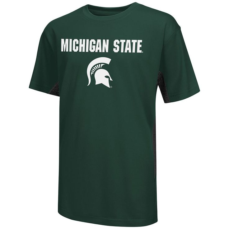 Boys 8-20 Campus Heritage Michigan State Spartans Ultra Tee, Size: Xl(18/20), Dark Green
