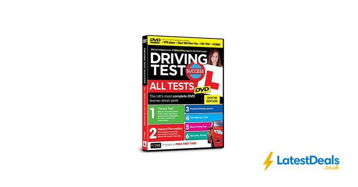 Deal of the Day Driving Test Success All Tests DVD, £4.75 at Amazon UK