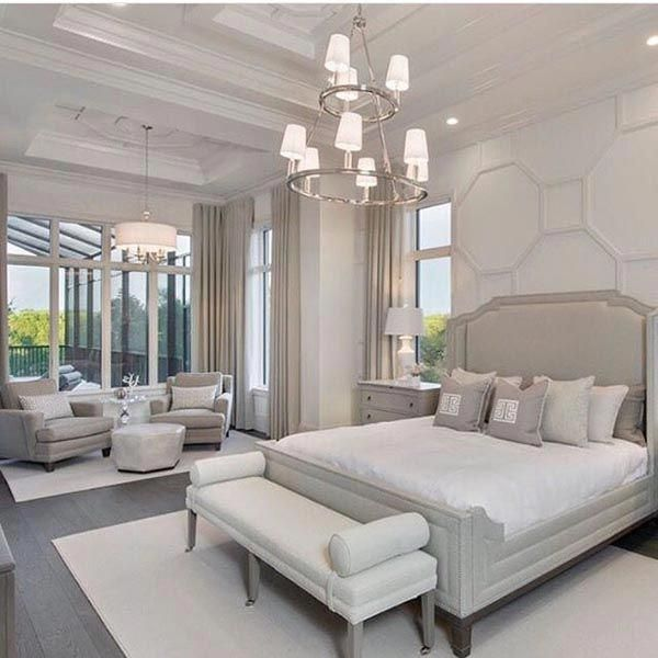 28 Fabulous Master Bedrooms With Sitting Area Beige Master Bedroom With Sitting Area Bedroom In 2020 Luxury Bedroom Master Dream Master Bedroom Luxurious Bedrooms