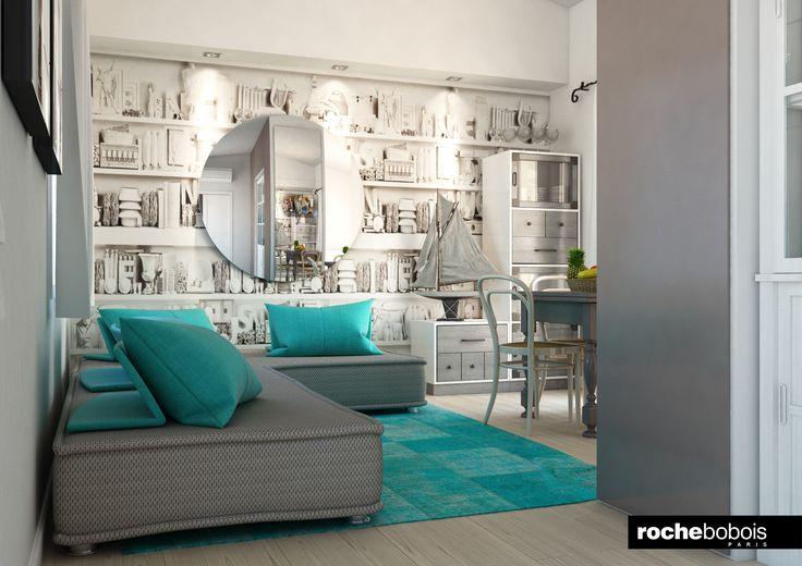 Casa al mare roche bobois style divano escapade for Catalogue canape roche bobois