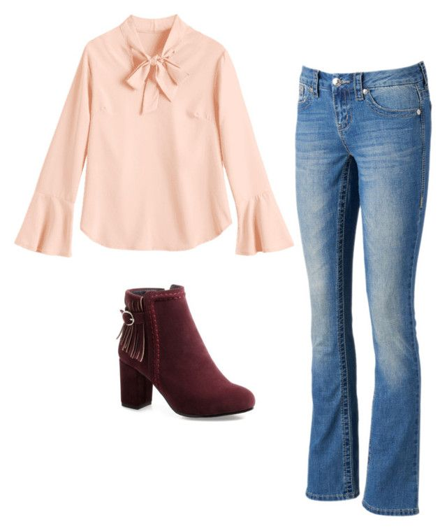 """""""Sin título #10"""" by angelaguirrem on Polyvore featuring moda y Seven7 Jeans"""