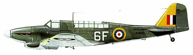 Fairey Fulmar aircraft profile. Aircraft Database of the Fleet Air Arm Archive 1939-1945