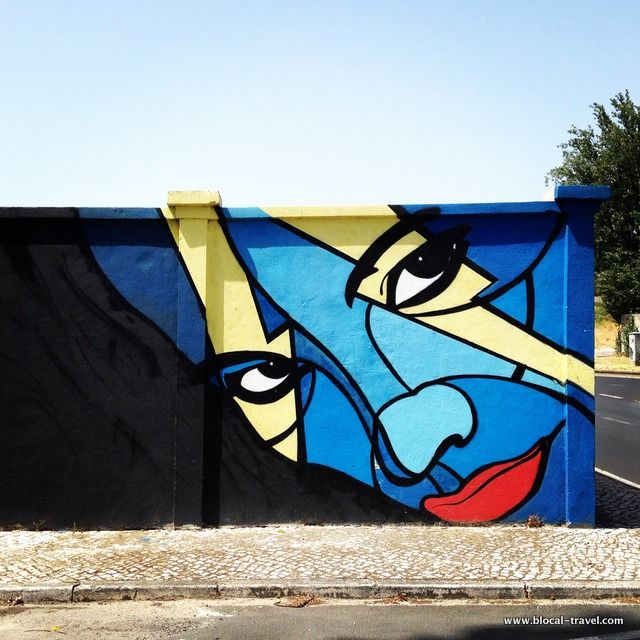 Ayako street art lisbon >> A comprehensive street art guide of Lisbon…
