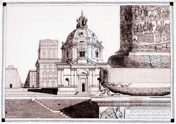 Carlo Aymonino drawings