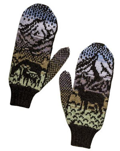 Ravelry: Woodland Winter Mittens pattern by Kerin Dimeler-Laurence