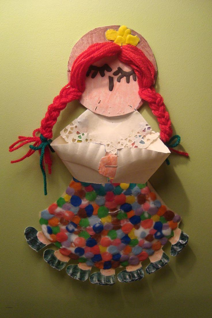 Φρου Φρουκατασκευές στον Παιδικό Σταθμό!: Η πολύχρωμη Κυρα-Σαρακοστή