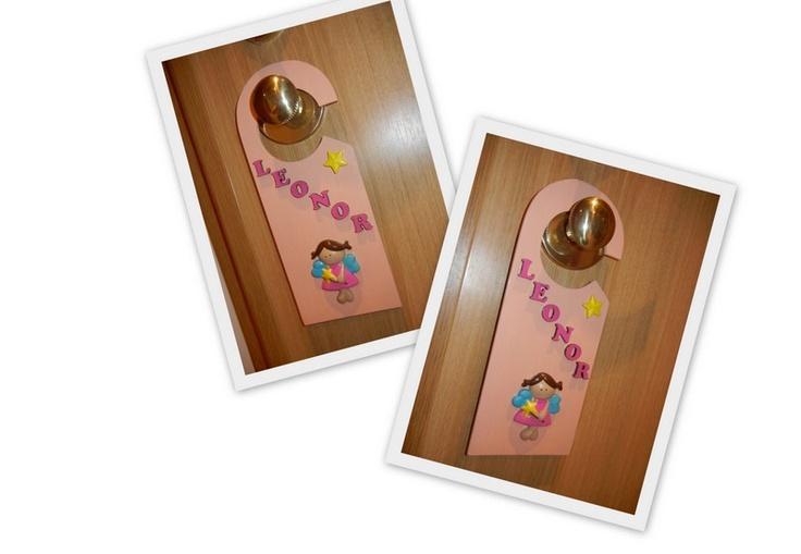 Placa de porta (Leonor)