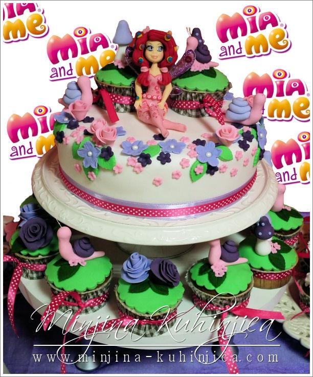 Mia and me — Birthday Cake Photos
