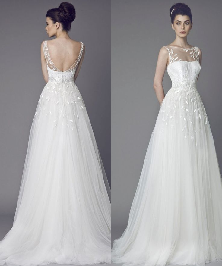 PRETTY... Tony Ward Wedding Dresses 2015 Collection. To see more: http://www.modwedding.com/2014/07/01/tony-ward-wedding-dresses-2015-collection/