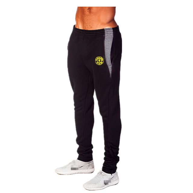 Promotion price Mens Joggers Pants Out door Sweatpants Golds Fitness and Bodybuilding Cotton Trousers Fitted Skinny Bottoms just only $14.24 - 14.99 with free shipping worldwide  #pantsformen Plese click on picture to see our special price for you
