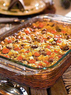 . Sausage Cornbread Dressing | Recipe | Cornbread Dressing, Cornbread ...