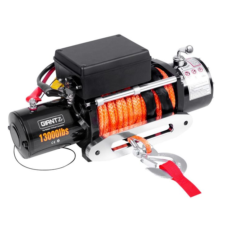 13000 lbs Electric Winch w/ Synthetic Rope