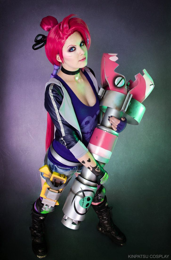 Find This Pin And More On Cosplay  Jinx Zombie Slayer