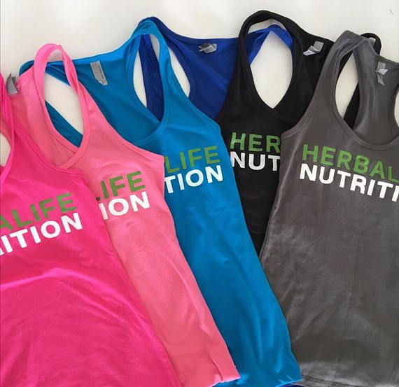 Herbalife Nutrition Racerback Tank Workout Tank Herbalife 24