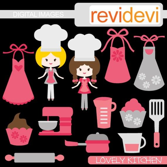 88 Best Kitchen Clip Art Images On Pinterest Etchings