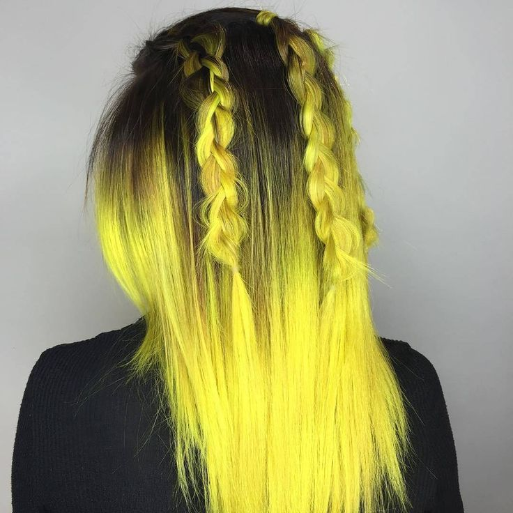 Electric Yellow Ombre