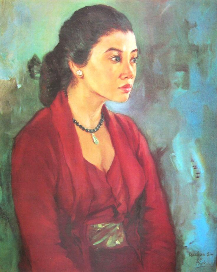 Trubus - Potret seorang wanita