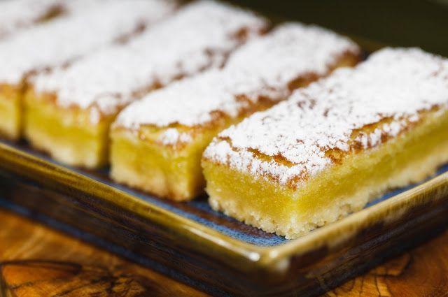 Food Processor Dessert: Lemon Bars