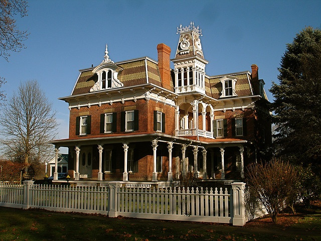 J C Lockwood House Milan Oh The Original Home Was Built